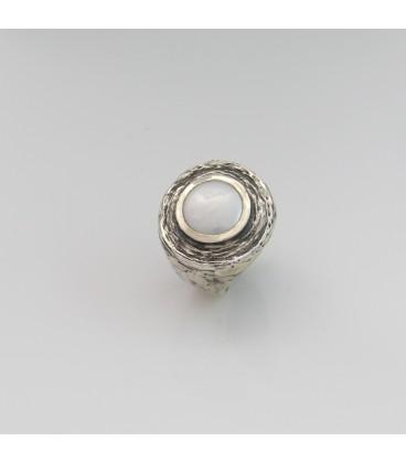 Anillo Styliano plata y perla