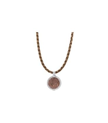 Cordon de cuero copper