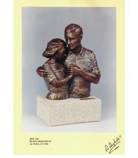 Escultura busto Serenidad