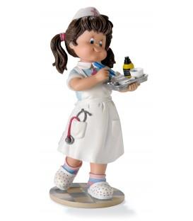 Figura bandeja de enfermera