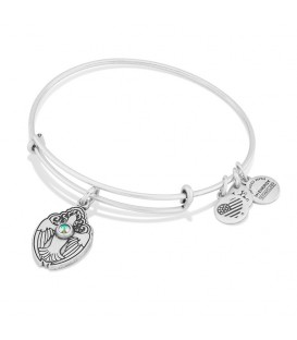 Pulsera Alex and Ani Paloma de cristal