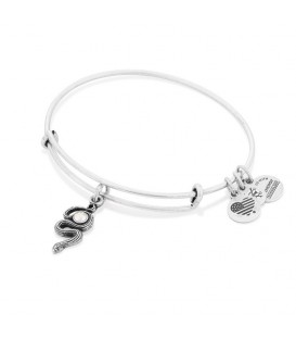 Pulsera alex and ani con charm de serpiente