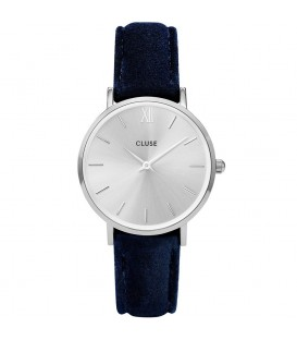 Reloj Cluse Minuit Silver