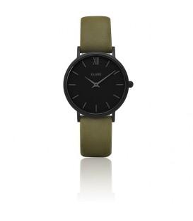 Reloj Cluse Minuit Full Black/Olive green