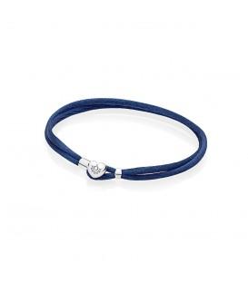Pulsera Moments en cordón azul