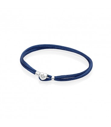 Pulsera Moments en cordón azul