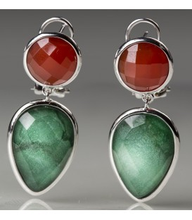 PENDIENTES GLAMOUR 925 BE53295-OR/JV