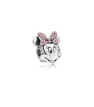 Clip Pandora Retrato Brillante de Minnie 797496CZS