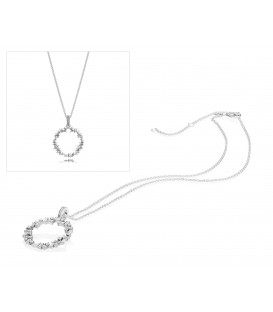 Collar Pandora Fragmentos de brillo 397546CZ-45