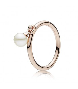 Anillo Pandora Rose Perla Contemporanea 187525P