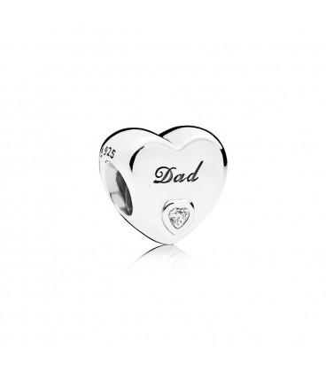 Charm Pandora Amor de Padre 796458cz