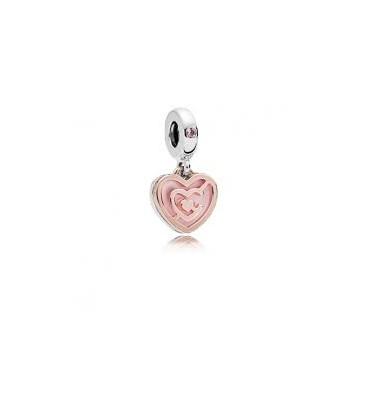 Charm Pandora rose Camino de amor 787801NBP