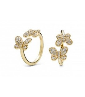 Anillo Pandora Shine Mariposas Brillantes 167913cz.