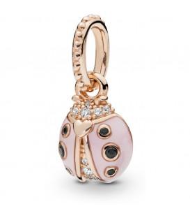 Colgante Pandora Mariquita de la Suerte Rosa 387909EN160