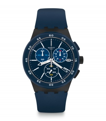 Reloj Swatch Blue Steward SUSB417