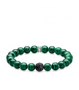 Pulsera Thomas Sabo Black Cat Verde A1778-530-6
