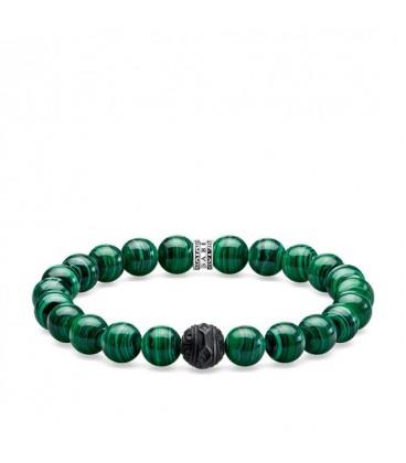 Pulsera Thomas Sabo Black Cat Verde A1778-530-6