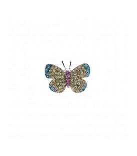 Broche Salvatore Plata Mariposa 226BM086