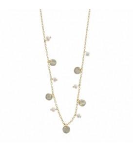Gargantilla Salvatore Plata perlas 213C0041