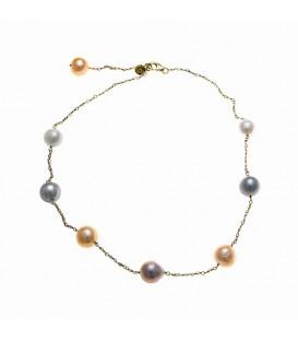 Collar Perlas Salvatore Plata 222C0055