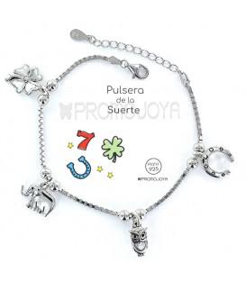 "Pulsera "" Eres lo Más"" Promojoya Suerte 9101776"