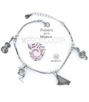 """Pulsera """"Eres lo Más"""" Promojoya de la Música 9101775"""