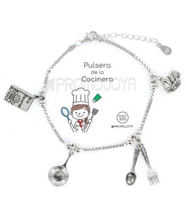 """Pulsera """" Eres lo Más"""" Promojoya Cocinera 9103044"""