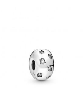 Clip Pandora Hojas Brillantes 798345CZ