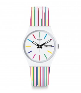 Reloj Swatch White Samba GW712