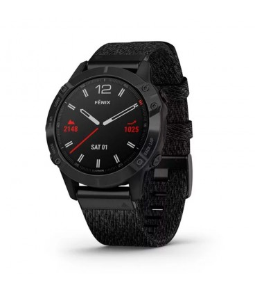 Reloj Garmin Fenix 6 zafiro negro DLC 010-02158-17