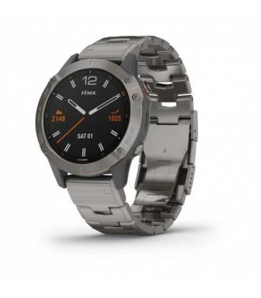 Reloj Garmin Fenix 6 Zafiro Titanio 010-02158-23