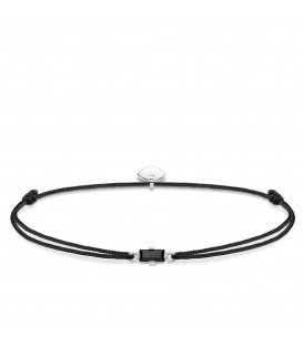 Pulsera Thomas Sabo Little Secret Piedra negra LS0105-401-11