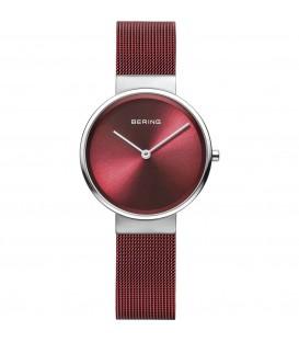 Reloj Bering rojo mujer 14539-303