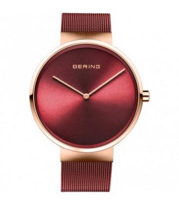 Reloj Bering rojo rosado 14539-363