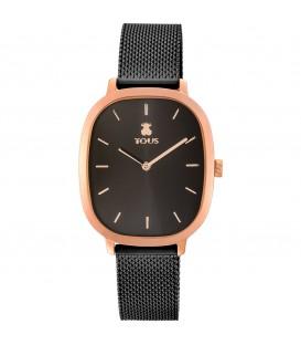 Reloj Tous Heritage negro y rosado 900350405
