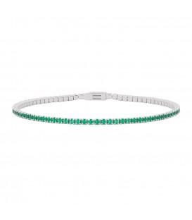 Pulsera esperanza plata Itemporality verde SBR-106-000