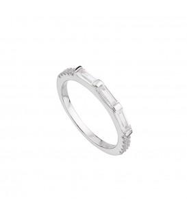 Anillo baguette plata Itemporality SRN-101-012-12