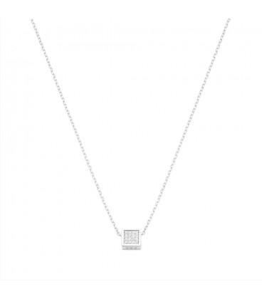 Collar cube plata Itemprality SNL-101-007-UU
